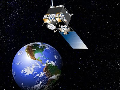 weather satellite illustration