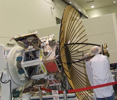 Tecsar satellite