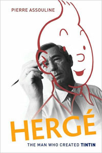 Hergé book cover
