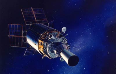 DSP satellite illustration