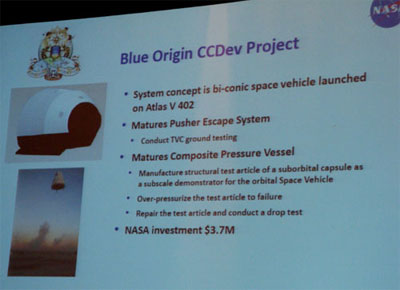 Blue Origin slide