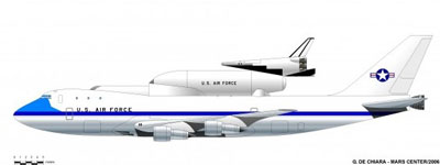 747/Sortie Vehicle illustration