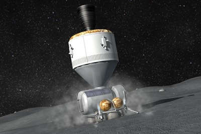 Orion asteroid landing