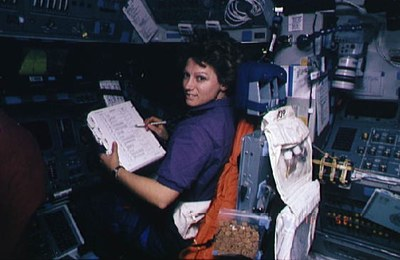 Collins on STS-69