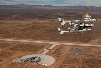 Spaceport America and WK2/SS2