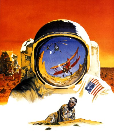 Capricorn One poster