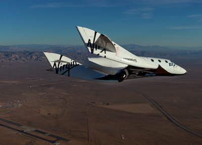 SpaceShipTwo flight