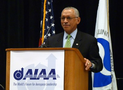 Bolden at FAA conference