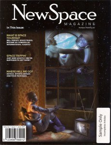 NewSpace magazine cover