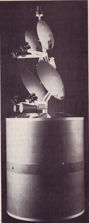 Intelsat IVA model