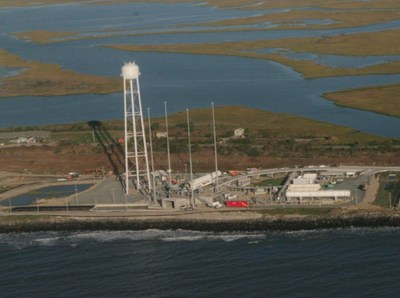 Antares launch site at Wallops