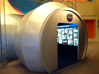 Destination Station exhibit