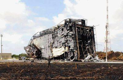 Alcântara explosion aftermath