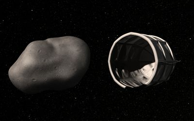 Asteroid mining concept
