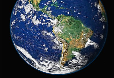 Latin America from space