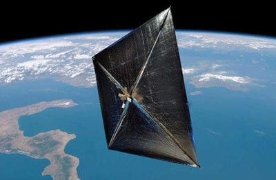 solar sail illustration