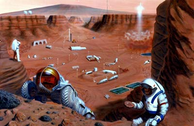 The Space Review: Colonize the Moon before Mars