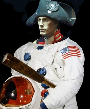Lewis as astronaut