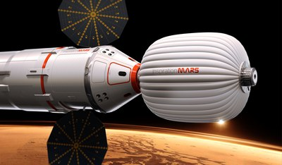 Inspiration Mars mission illustration