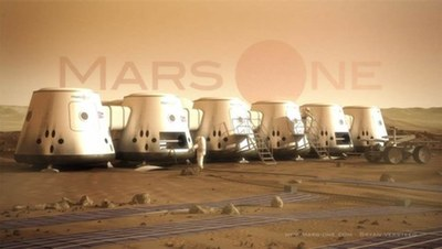 Mars One illustration
