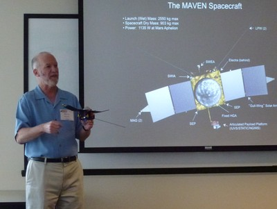 Flying above the Martian radar