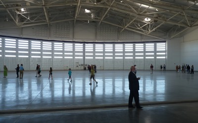 Spaceport America hangar