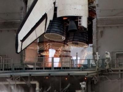 STS-135 SSME ignition