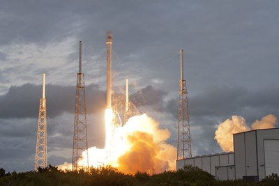 Falcon 9 Thaicom 6 launch