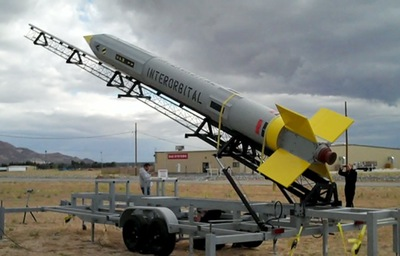 Interorbital rocket