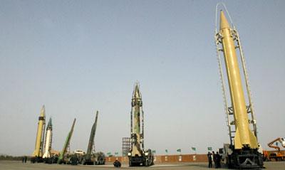 Shahab-3 missile