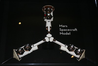 Mars spacecraft model