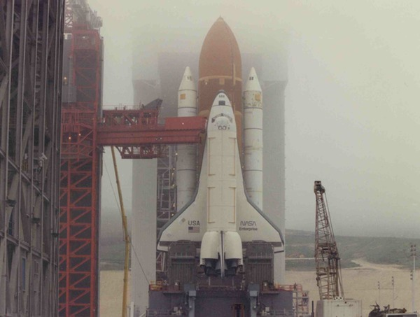 space shuttle at vandenberg - photo #25