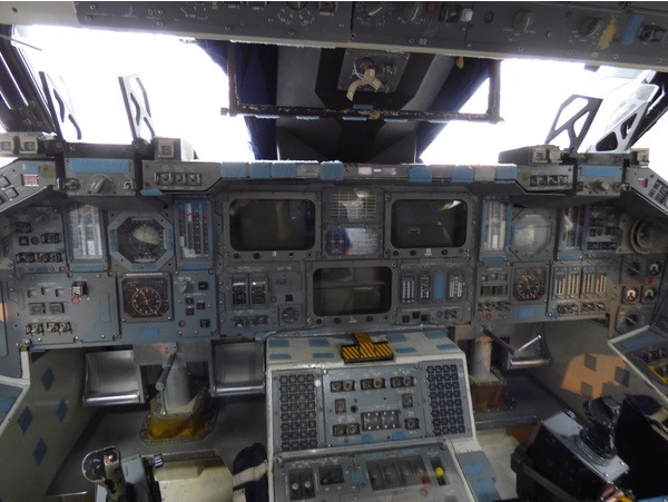 view inside shuttle trainer