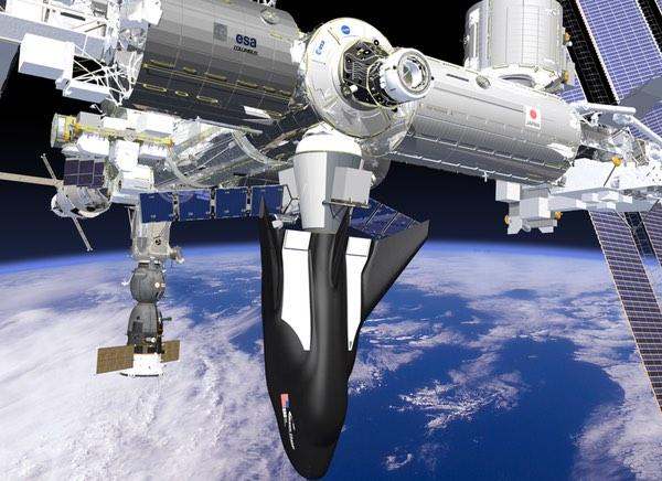 Dream Chaser at ISS