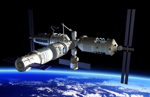 Chinese Space Station illustration