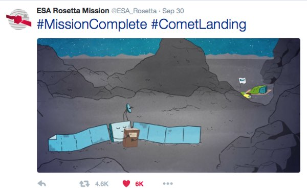 Rosetta cartoon