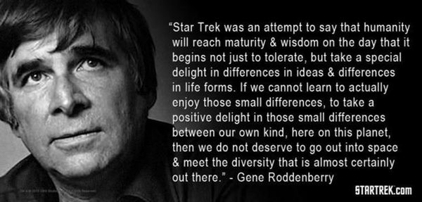 Roddenberry quote