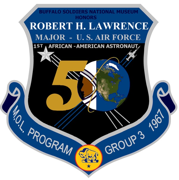 Lawrence 50th anniversary logo
