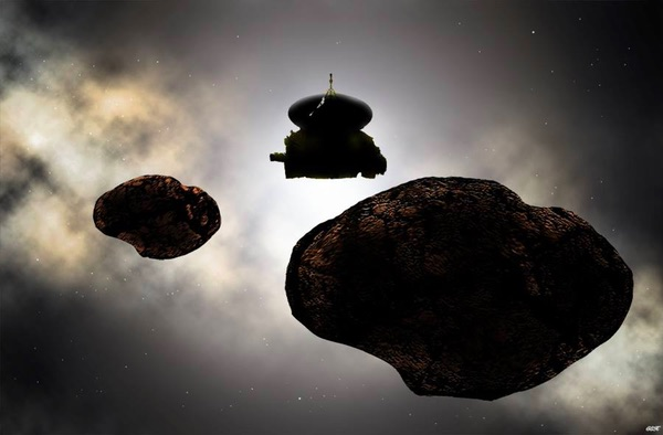 New Horizons at 2014 MU60