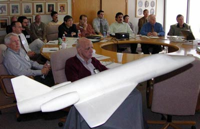 Rocketplane engineering meeting