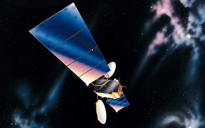 Lockheed Martin communications satellite