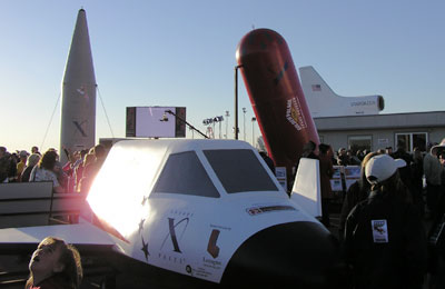 X Prize vehicle mockups