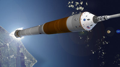 CLV launch illustration