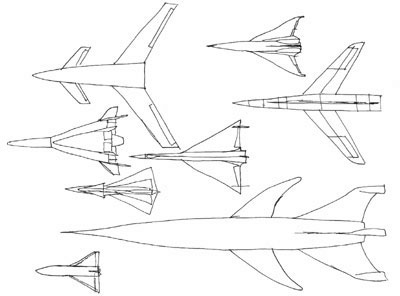 Spaceplane illustrations