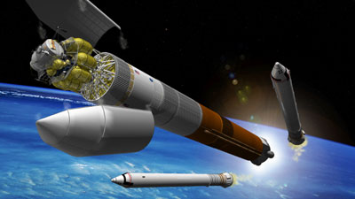 shuttle-derived heavy-lift launcher