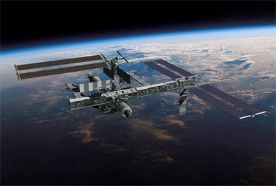 ISS illustration