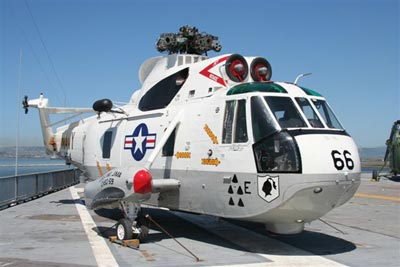 Helo 66 on USS Hornet
